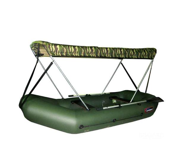 навес для надувной пвх лодки